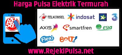 RejekiPulsa.Net Agen Pulsa Elektrik Online Termurah