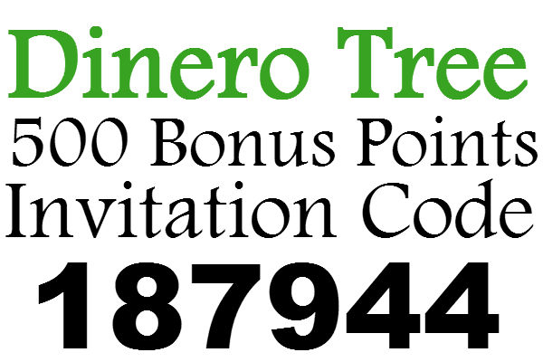Dinero Tree Invitation Code 2020, DineroTree App Sign Up Bonus, Dinero Tree Refer A Friend 2020