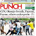 NAIJA NEWSPAPERS: TODAY'S THE PUNCH NEWSPAPER HEADLINES [6TH SEPTEMBER, 2017].