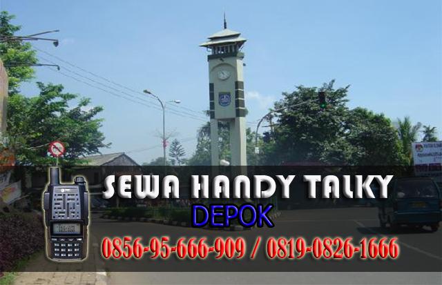 Pusat Sewa HT Area Depok Tempat Rental Handy Talky Area Depok