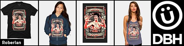 Roberlan - Bruce Lee art @ DesignByHumans banner ad