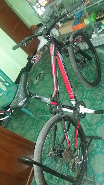 jual sepeda bekas (sepeda gunung mtb bmx road  balap folding lipat) merk merek mosso3