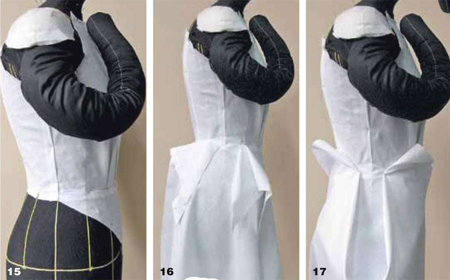 Шьем платье прилегающего силуэта сложного покроя с корсетом