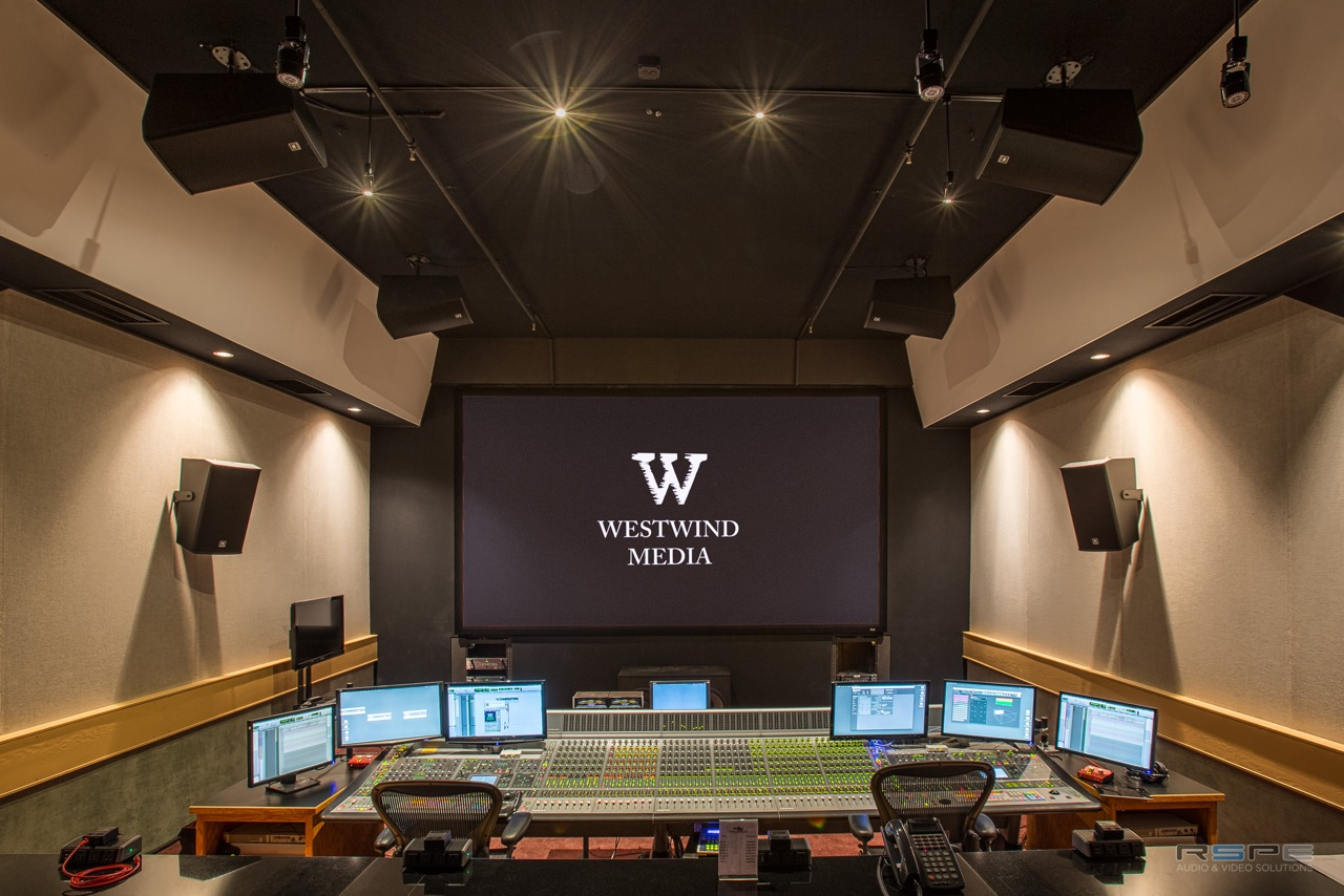 Post Production Los Angeles Westwind Media Upgrades Stage 1 To Dolby Atmos With Rspe Audio