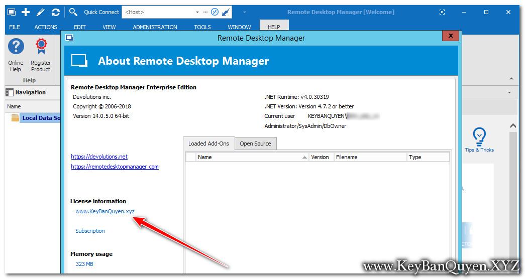 Remote Desktop Manager 14.0.5 Enterprise Full Key, Phần mềm quản lý kết nối từ xa chuyên nghiệp nhất