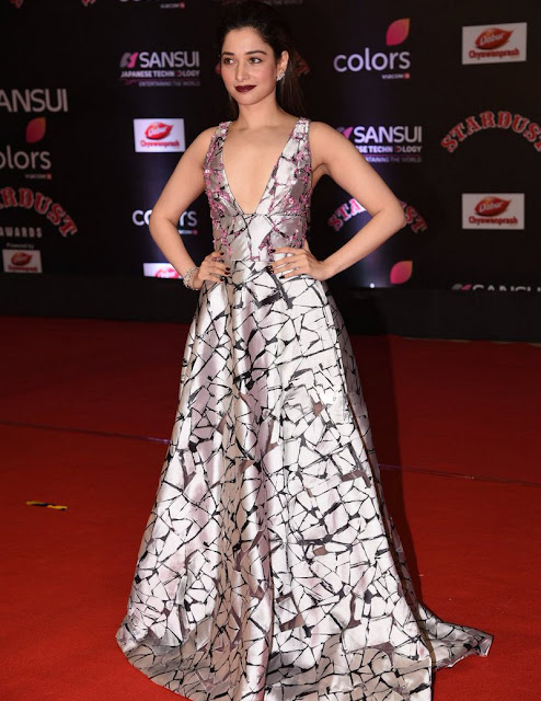 Actress Tamanna at StarDust Awards 2016 Photos