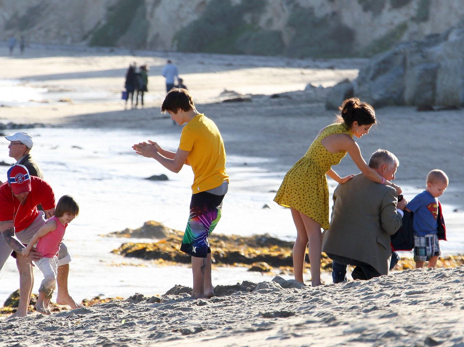 beach upskirt gomez selena