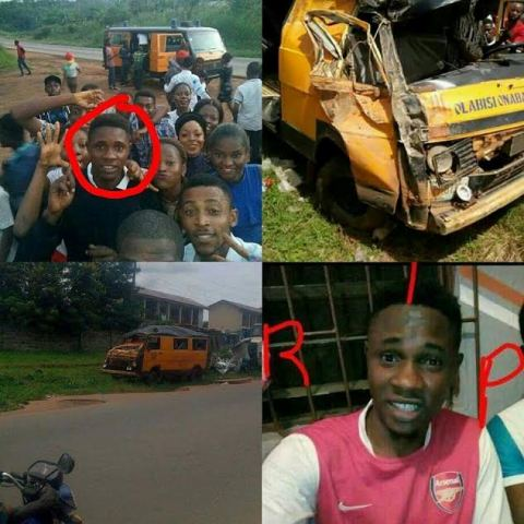 Few Days To His Graduation, OOU National Association Of Science Students President, Dies In A Fatal Accident| Photos
