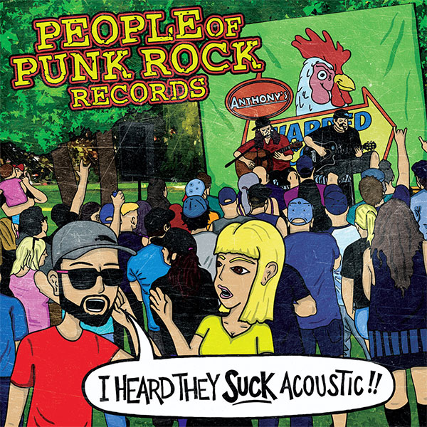 "People Of Punk Rock Records announce new compilation ""I Heard They Suck Acoustic"""