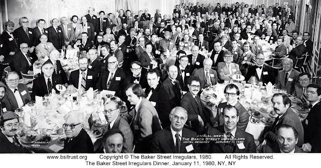 The 1980 BSI Dinner group photo