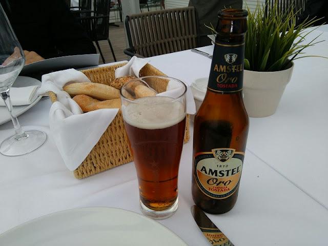 Cerveza del restaurante Panorama