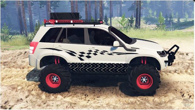 Mod Suzuki Grand Vitara Spintires