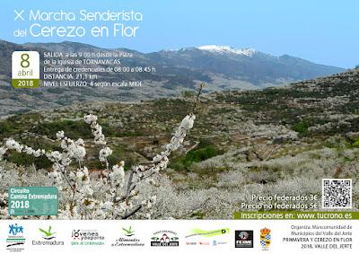 X Marcha Senderista del Cerezo en Flor. Valle del Jerte