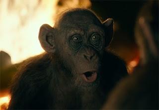 la guerra del planeta de los simios: conoce al simio malo en un nuevo clip