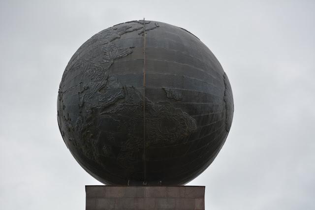 Equator line Quito world