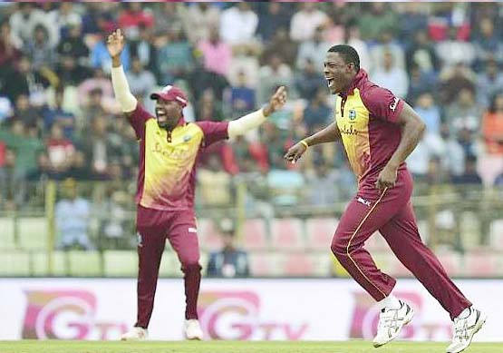 Bangladesh vs West Indies 1st T20  Cottrell
