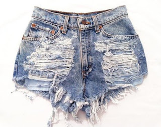 Vintage Levi's cut-off shorts