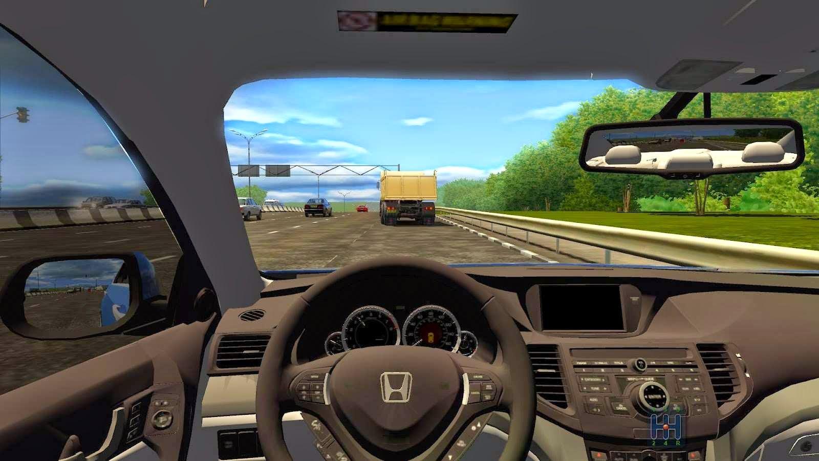 تعلم السياقة بدون معلم مع لعبة City Car Driving الرائعة