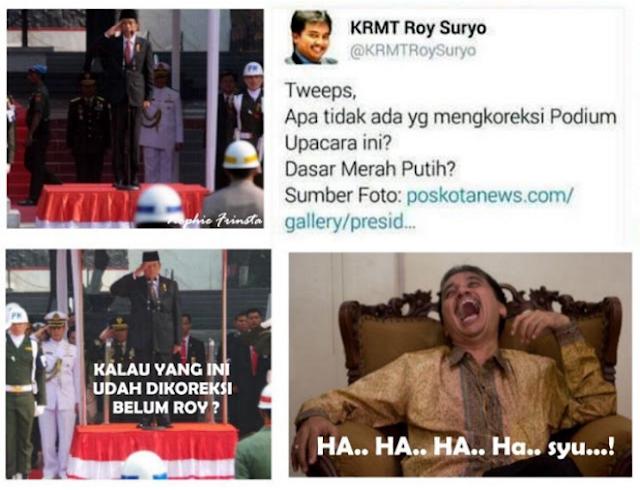 """Selesai Kang Emil, Giliran Sekretaris Militer Presiden """"TNI Hadi Tjahjanto"""" Yang Permalukan Roy Suryo"""
