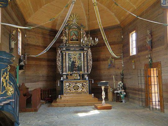 Kościół pw. Matki Boskiej Śnieżnej.