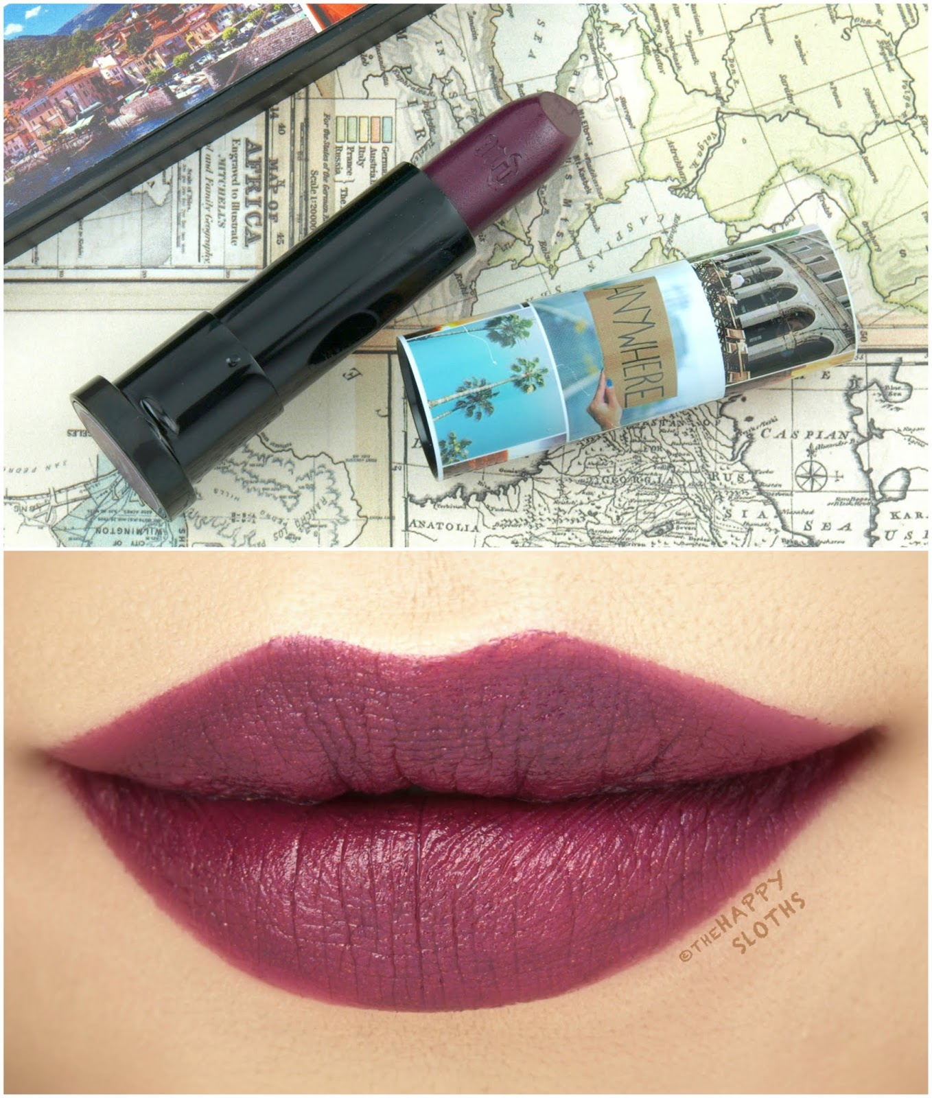 """Urban Decay   Born to Run Vice Lipstick in """"Marfa"""": Review and Swatches"""