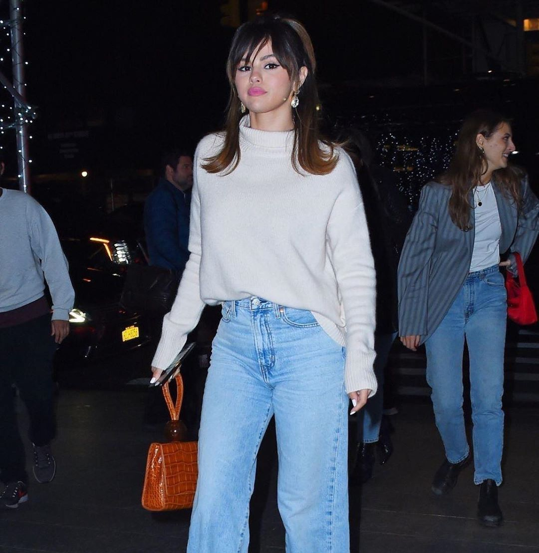 Selena Gomez Gives Us the Perfect Outfit for Valentine's Day