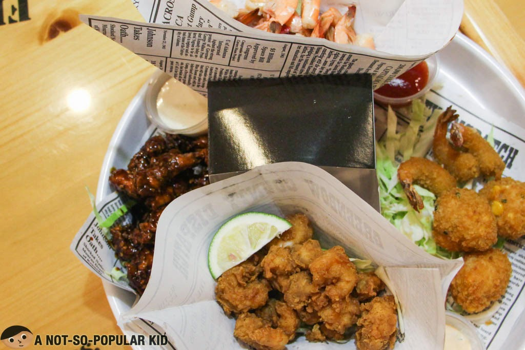 Run Across American Sampler by Bubba Gump Restaurant