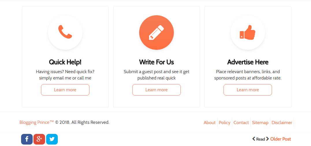 blogger custom widgets