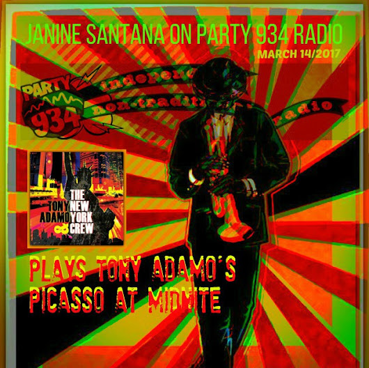 Playlist for New Play Tuesday with Janine on Party934 Radio/Toy Adamo