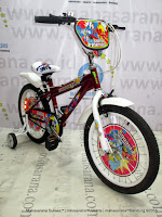 18 Inch United DC Superfriends Sky Kids Bike