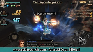 Dynasty Warriors 1.0.4.3 hile apk