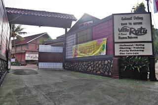 Villa Ratu puncak Bogor di Pancawati