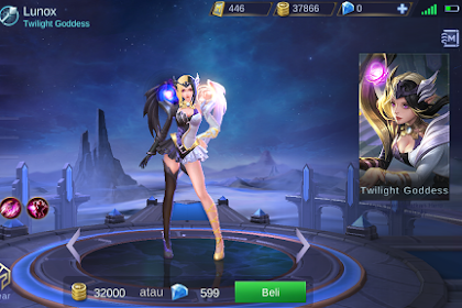 Hero Baru Mobile Legends Lunox Twilight Goddess