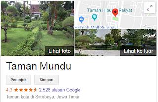 Taman Mundu - Taman Wisata Di Surabaya Yang Lagi Hits Tahun 2018