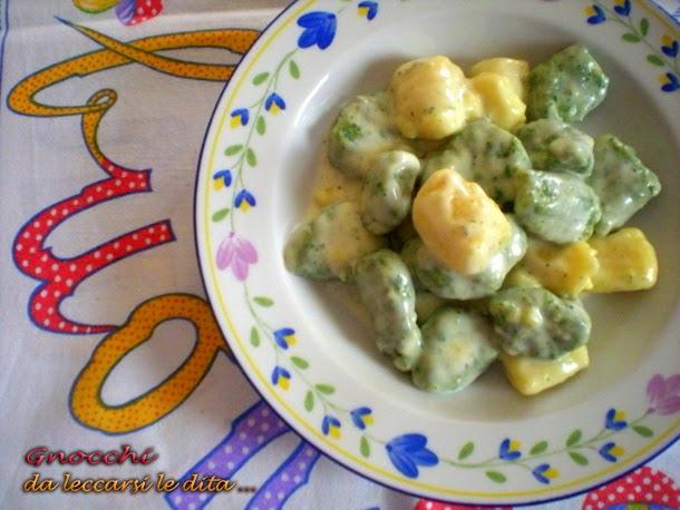 Gnocchi verdi al gorgonzola ricetta