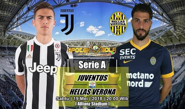 Prediksi Juventus vs Hellas Verona 19 Mei 2018