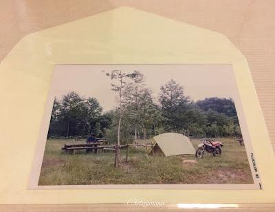 DT50 キャンプ 北海道 ツーリング