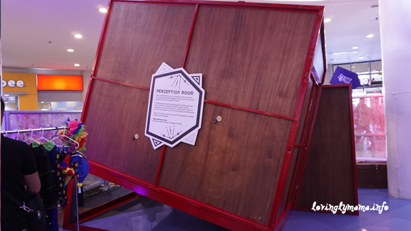 Science Circus - Robinsons Place Bacolod - The Science Museum - Perception Room