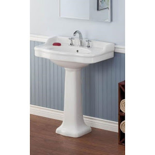 Vitreous China Pedestal Sink
