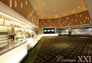 Bursa Kerja Lampung di Cafe Cinema XXI Mall Boemi Kedaton Terbaru Juni 2016