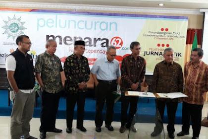Gebrakan Nyata, PP Muhammadiyah Resmi Luncurkan Portal Berita Menara62.com, Ingin Kalahkan Kompas Dan Detik