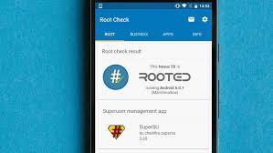 imagem do celular com root