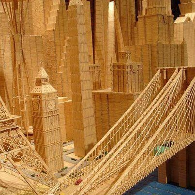 Amazing Matchstick art, Images