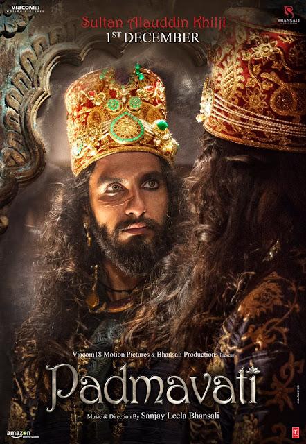 Padmavati Ranveer Singh First Look