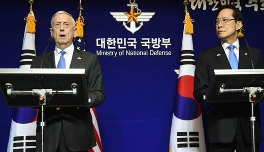 Secretário americano da Defesa, ameaça Coreia do Norte