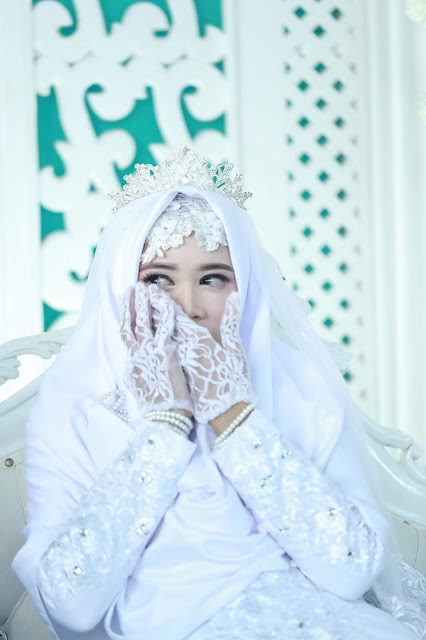 dress akad syari dwibcc