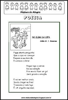 Poesia No clima da copa