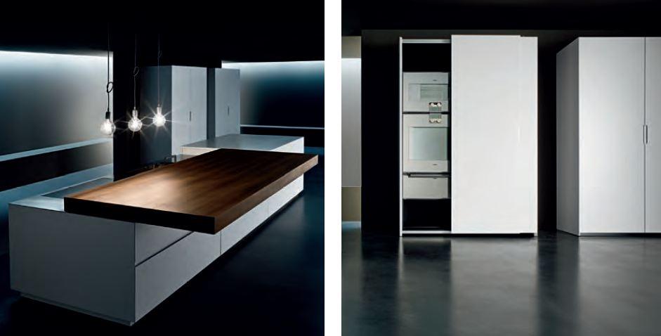 Cucina minimal a scomparsa design Minimal Cucine