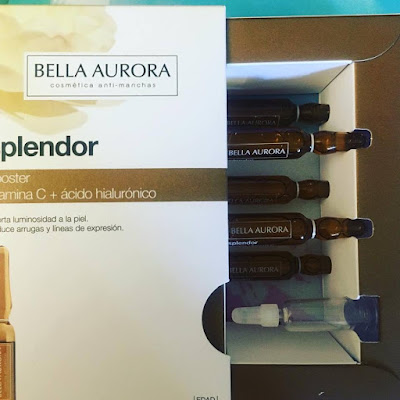 bella aurora, splendor, splendor booster, vitamina c, acido hialuronico,