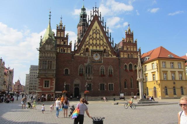 Stadhuis op de Rynek in Wroclow